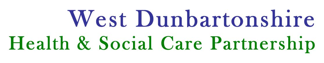 west dunbarton Health & Socal care partnership